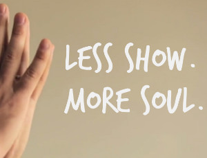 less show more soulftd